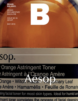 매거진B issue#16 AESOP