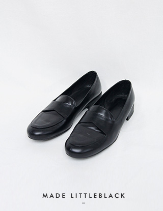 THE LITTLE. classic loafer(블랙,남성사이즈추가)