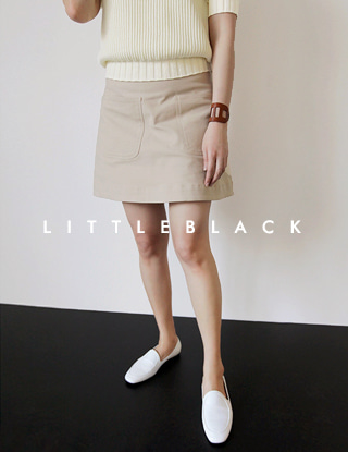 THE LITTLE. 베이지 포켓 SK