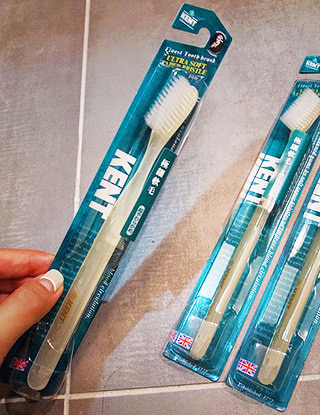 KENT tooth brush(2 types,6EA 한박스상품,컬러추가)