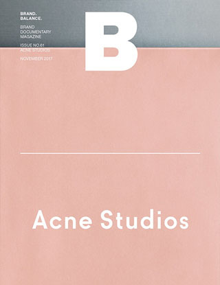 매거진B issue#61 ACNE STUDIOS