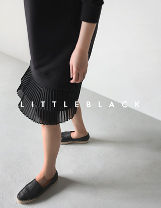 THE LITTLE. 플리츠 배색 OPS (촬영컷추가)☆